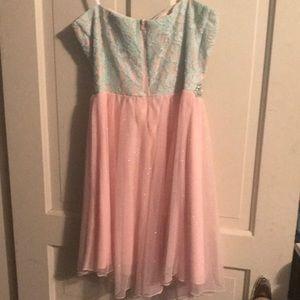 Deb Dresses - Short strapless women's dress